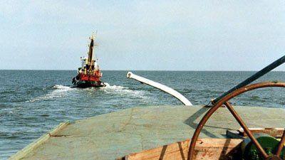 Die ELBE auf der Nordsee